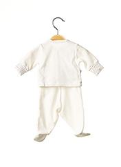 Veste/pantalon blanc ABSORBA pour enfant seconde vue