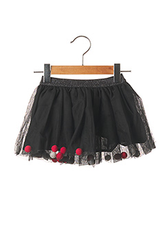 Jupe mi-longue noir ABSORBA pour fille