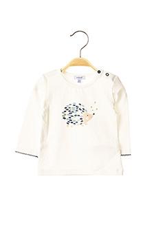 T-shirt manches longues blanc ABSORBA pour enfant