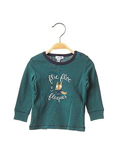 T-shirt manches longues vert ABSORBA pour garçon