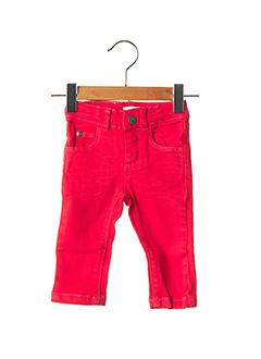 Pantalon casual rouge ABSORBA pour fille