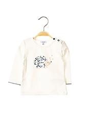 T-shirt manches longues blanc ABSORBA pour enfant seconde vue