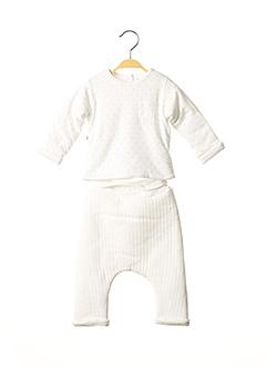 Pull/pantalon beige ABSORBA pour enfant