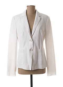 Veste casual blanc WHITE LABEL pour femme