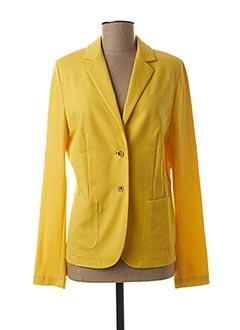 Veste casual jaune WHITE LABEL pour femme