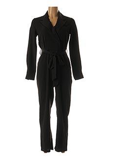 Combi-pantalon noir LOVIE & CO pour femme