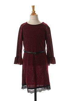 Robe mi-longue rouge LPC GIRLS pour fille