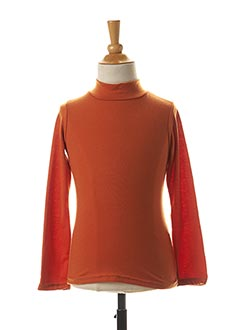 Sous-pull orange LPC GIRLS pour fille