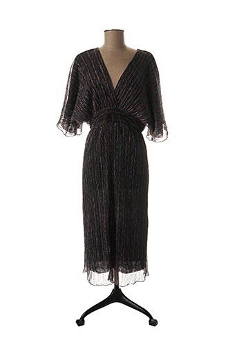 Robe mi-longue bleu HOLLY & JOEY pour femme