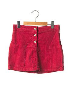 Jupe mi-longue rouge TIFFOSI pour fille