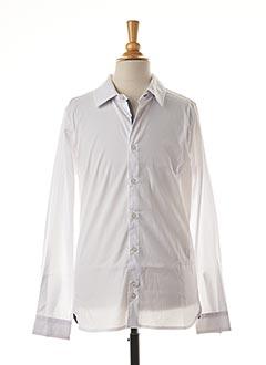 Chemise manches longues blanc TEDDY SMITH pour garçon