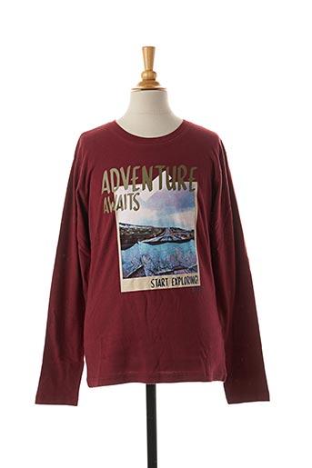 T-shirt manches longues rouge TIFFOSI pour garçon