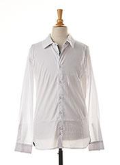 Chemise manches longues blanc TEDDY SMITH pour garçon seconde vue