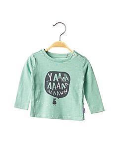 T-shirt manches longues vert NOPPIES pour garçon