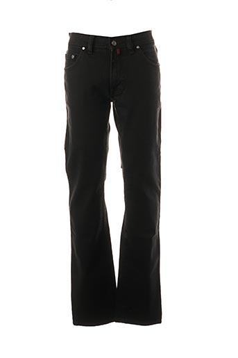 Jeans coupe droite noir PIERRE CARDIN pour homme