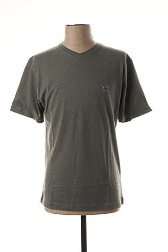 T-shirt manches courtes gris JEZEQUEL pour homme