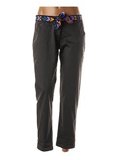 Pantalon 7/8 gris LUK AP pour femme