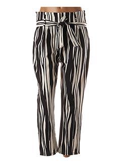 Pantalon 7/8 noir BLU ROYAL pour femme