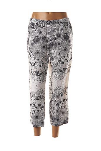 Pantalon 7/8 blanc GRIZAS pour femme