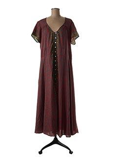 Robe longue rouge ALLER SIMPLEMENT pour femme
