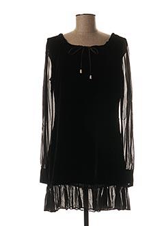 Robe courte noir TWINSET pour femme
