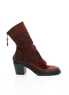 Bottines/Boots rouge STRATEGIA pour femme