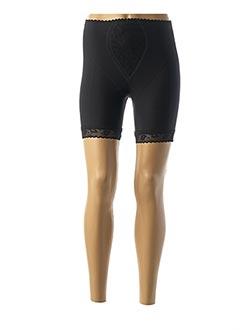 Culotte gainante noir GEMMA pour femme