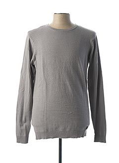 Pull col rond gris TIFFOSI pour homme