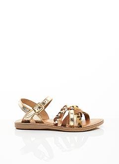 Sandales/Nu pieds beige L'ATELIER TROPÉZIEN pour fille