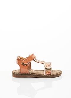 Sandales/Nu pieds marron BISGAARD pour fille