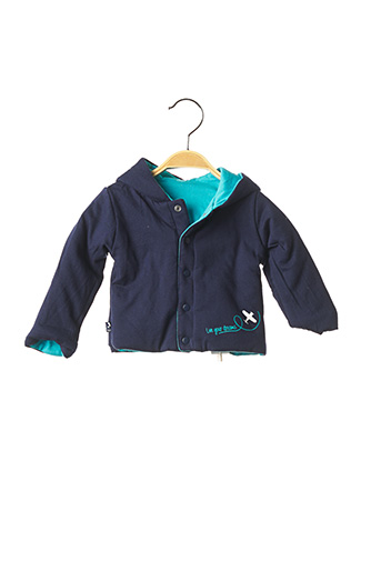 Veste casual bleu BOBOLI pour garçon