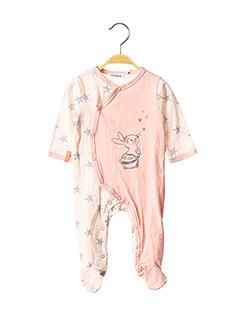 Pyjama rose NOUKIE'S pour fille