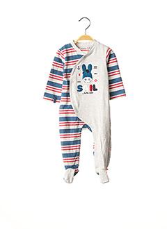 Pyjama gris NOUKIE'S pour garçon