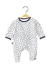 Pyjama blanc BOBOLI pour enfant seconde vue