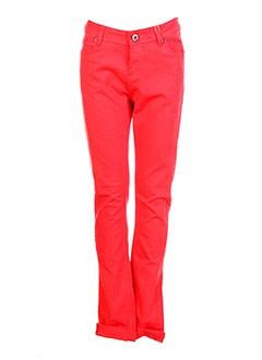 Pantalon casual rouge GARCIA pour fille