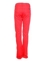 Pantalon casual rouge GARCIA pour fille seconde vue