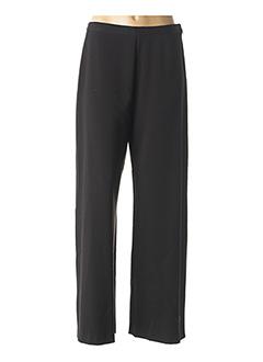 Pantalon casual noir JEAN GABRIEL pour femme