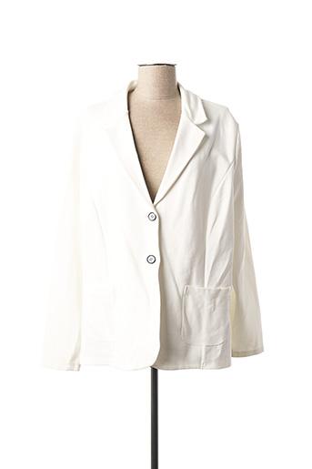 Veste chic / Blazer blanc CONCEPT K pour femme