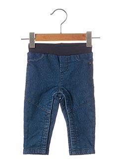 Jeans coupe droite bleu 3 POMMES pour enfant