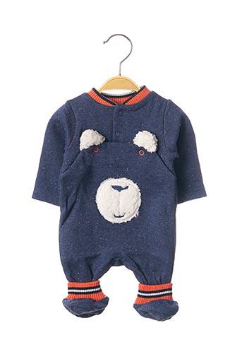 Pyjama bleu 3 POMMES pour garçon