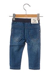 Jeans coupe slim bleu 3 POMMES pour enfant seconde vue