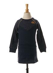 Robe mi-longue bleu 3 POMMES pour fille seconde vue