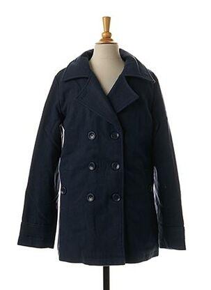 Manteau long bleu CHIPIE pour fille