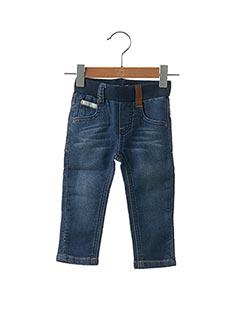 Jeans coupe slim bleu JEAN BOURGET pour enfant