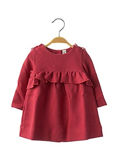Robe mi-longue rose JEAN BOURGET pour fille
