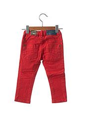 Jeans coupe slim rouge JEAN BOURGET pour enfant seconde vue