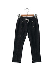 Pantalon casual noir JEAN BOURGET pour fille seconde vue