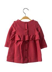 Robe mi-longue rose JEAN BOURGET pour fille seconde vue