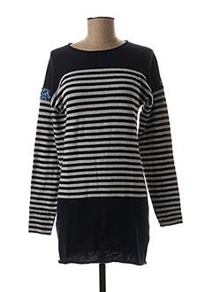 Robe pull bleu BECKARO pour fille