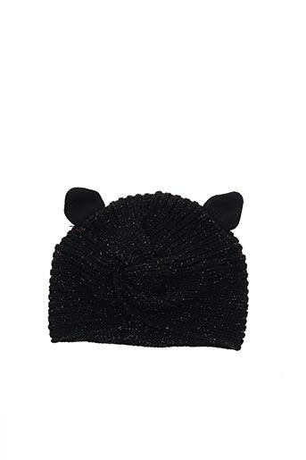 Bonnet noir CATIMINI pour fille